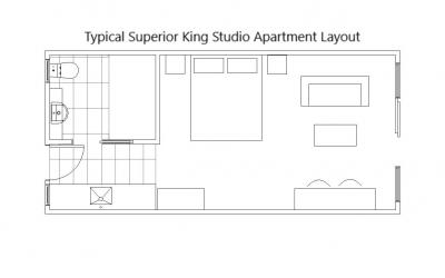 Superior King Studio Apartments